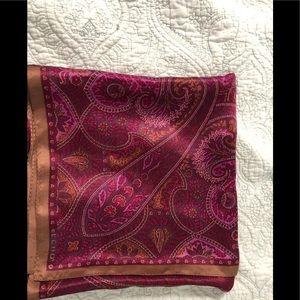 Echo 100% silk scarf